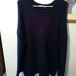 Dex blue sweater